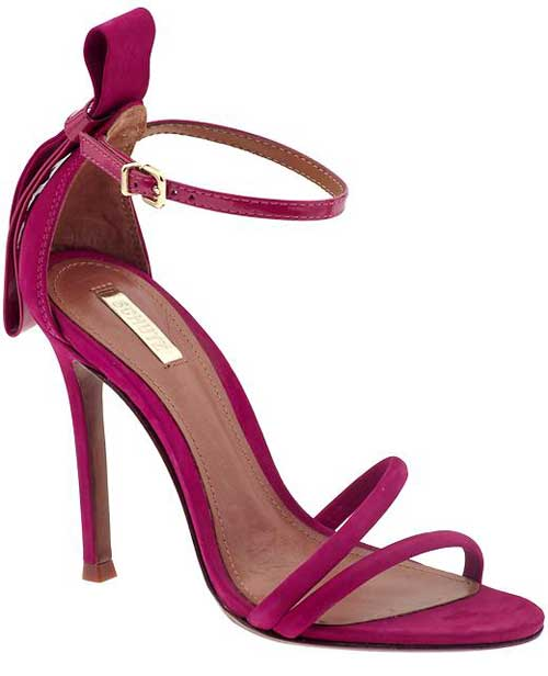 schutz nelly pink barely there sandals