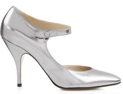 Hobbs Invitation 'Finella' silver Mary Janes
