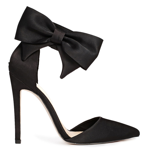 ASOS Picture Perfect bow pumps