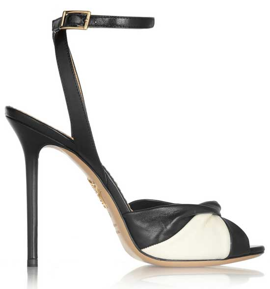 designer shoes by Charlotte Olympia on sale at The Outnet