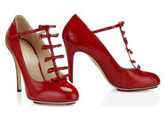 red-bow-shoes