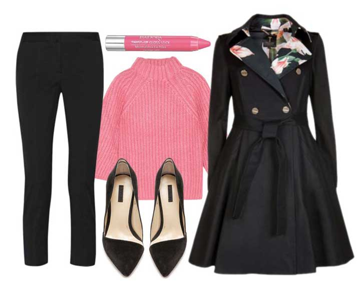 how to style asymmetric pumps