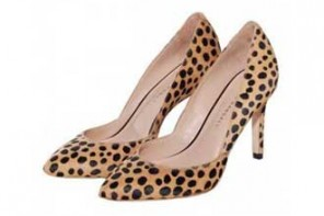 Cheetah print shoes and how to wear them