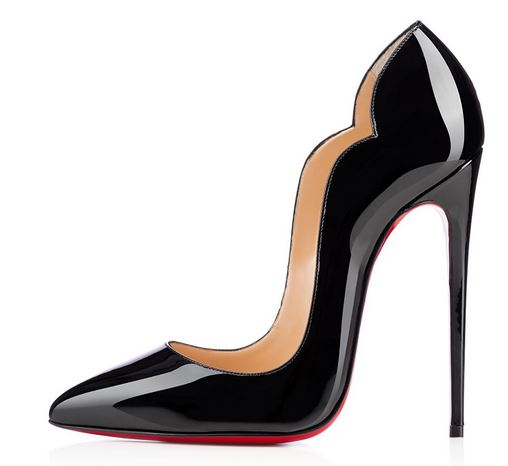 Christian Louboutin Hot Chick Patent stilettos