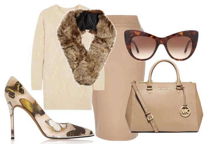 neutral autumn outfit