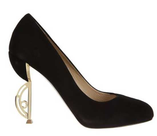 Nicholas Kirkwood pumps with shaped heel