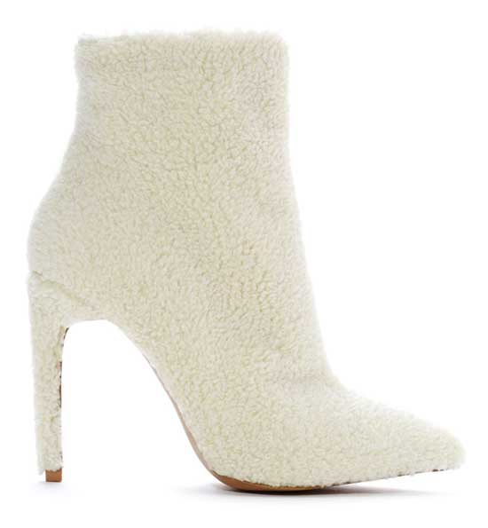 Jeffrey Campbell shearling ankle boots