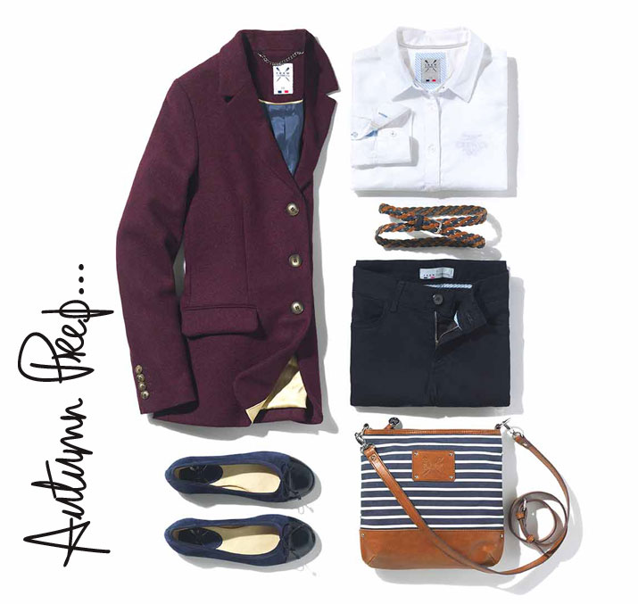 preppy outfit for autumn