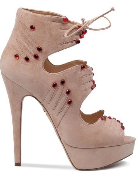 Charlotte Olympia hand shoes