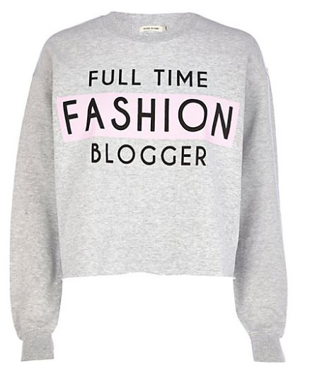 Full Time Fashion Blogger Sweatshirt