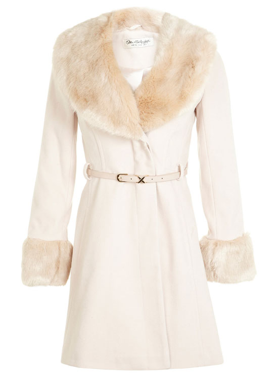 Cream Winter Coats - Coat Nj