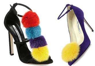unusual shoes by Brian Atwood