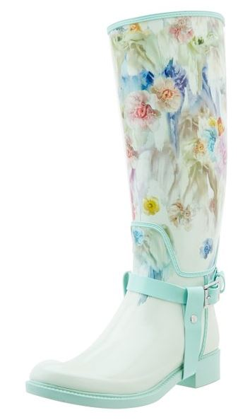 pretty wellies by Ted Baker