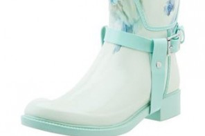 Possibly the prettiest wellies you'll ever see
