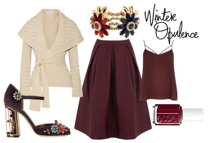 winter opulence outfit