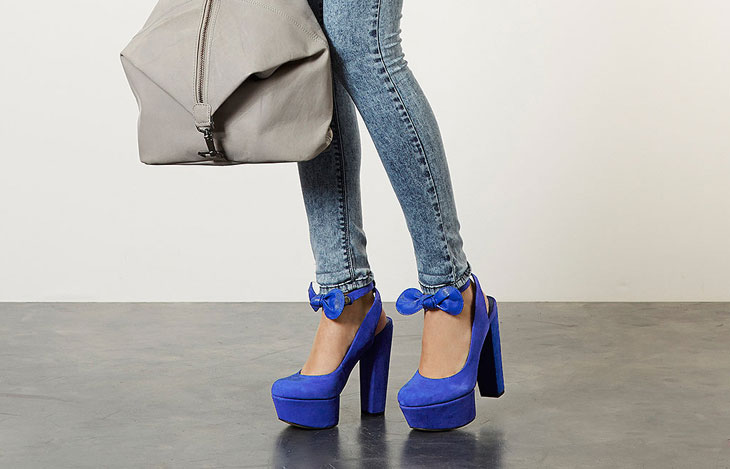 platform shoes with skinny jeans