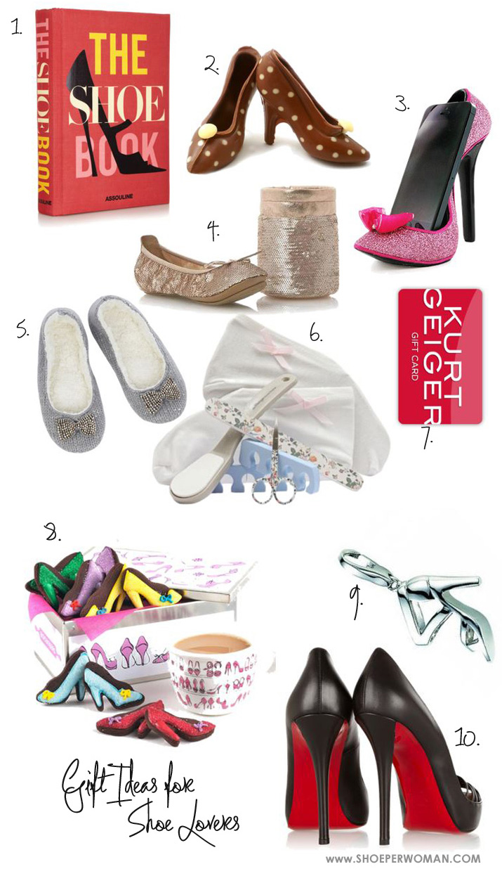 Gift Ideas for Women Who Love Shoes: Christmas Gift Guide