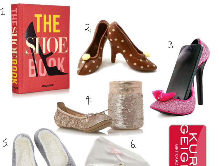 gift guide for shoe lovers