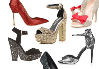 glitter party shoes roundup