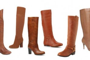Shoeper Six | Tan knee boots