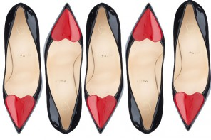 Christian Louboutin Cora heart pumps
