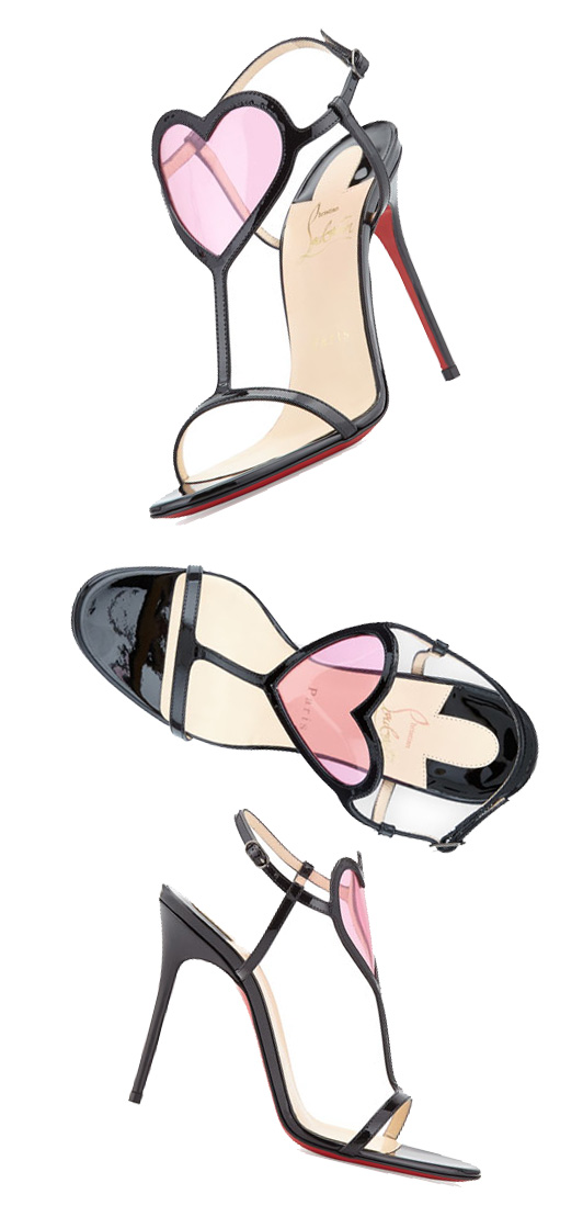 Christian Louboutin 'Cora' heart-front sandals