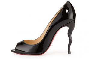 Friday Fix | Christian Louboutin 'Jolly' Squiggle-Heel Pumps