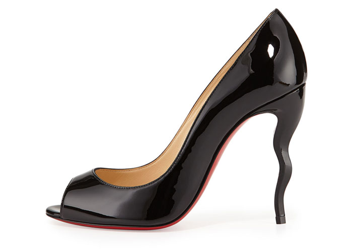 Christian Louboutin 'Jolly' squiggle heeled pumps