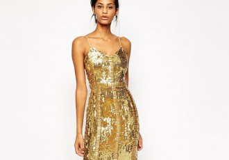gold-sequin-party-dress
