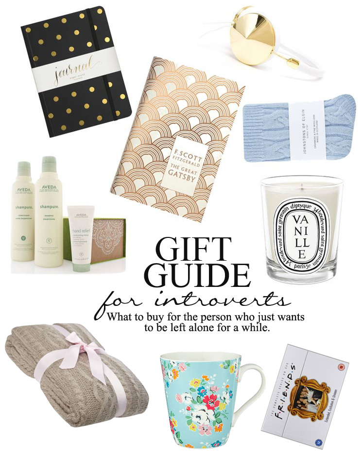 gift guide for introverts