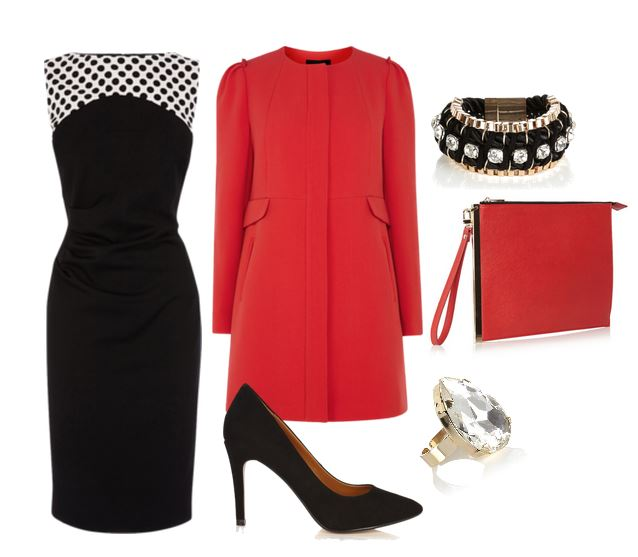 christmas party outfit ideas: coast