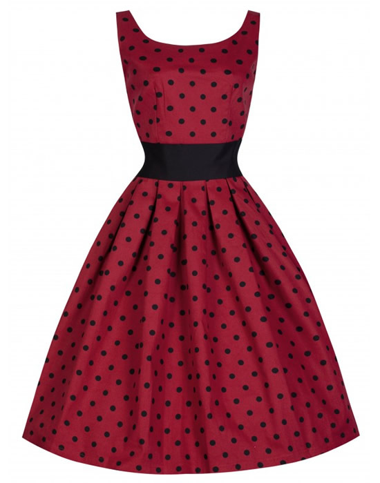 lindybop lane polka dot dress