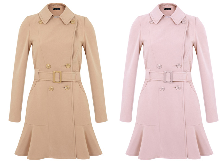 Shoeper Style | The Peplum Hem Coat