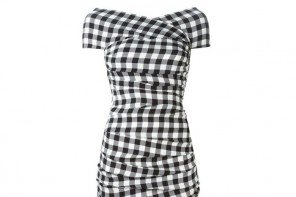 Dress of the Day | Dolce & Gabbana gingham check dress