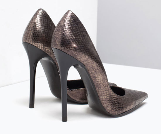 ZARA high heel stiletto pumps