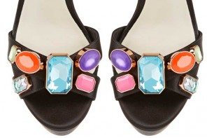 Shoe of the Day | Sophia Webster Amanda embellished satin sandals
