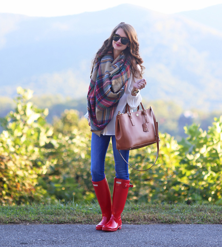 how to look good in wellies