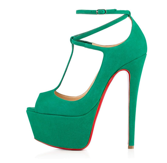 Christian Louboutin Talitha suede 160mm