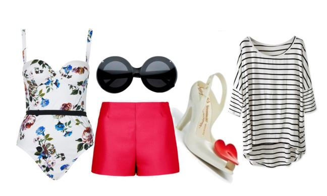 how to style a floral body for summer