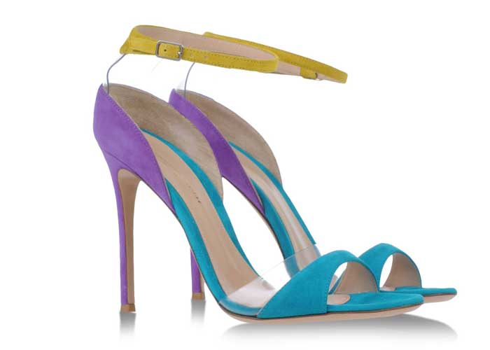 Gianvito Rossi multicolour sandals