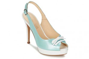 Shoe of the Day | Fericelli 'Rinita' mint green slingback sandals