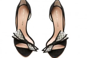 Kurt Geiger 'Juniper' Bow d'Orsay Sandals