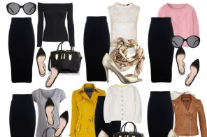 Minimal 16-Piece Capsule Wardrobe for Spring 2015