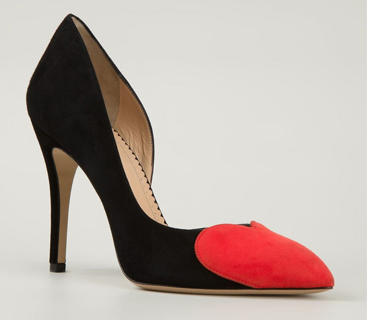 Charlotte Olympia 'Love Vamp' pumps