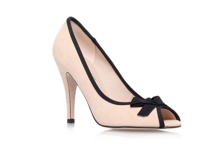 bow peep toes by Miss KG