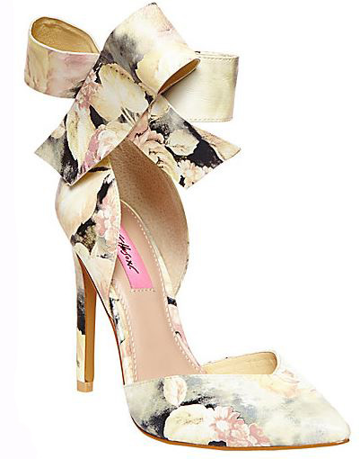 Betsey Johnson closed toe pumps