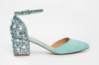 ASOS 'Shooting Star' low embellished heels