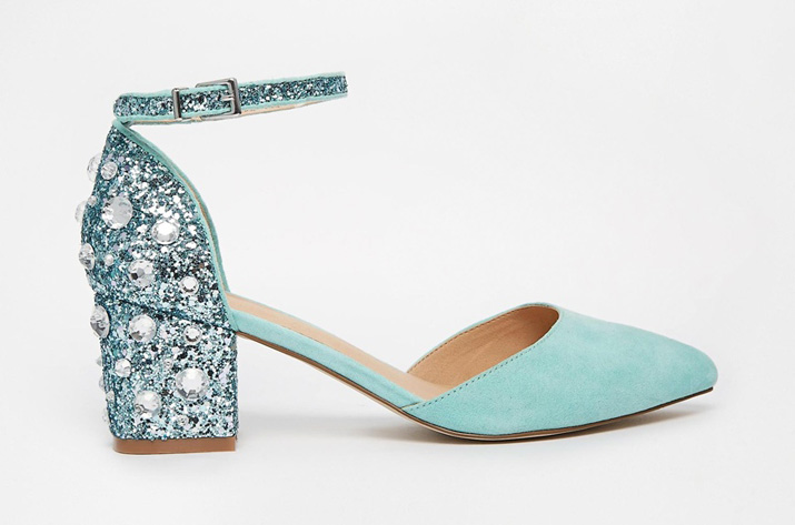 23faeab5ebb3 Shoe of the Day | ASOS 'Shooting Star' low embellished heels ...