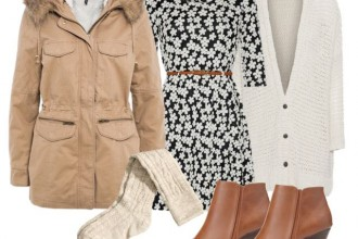 what to wear with a parka