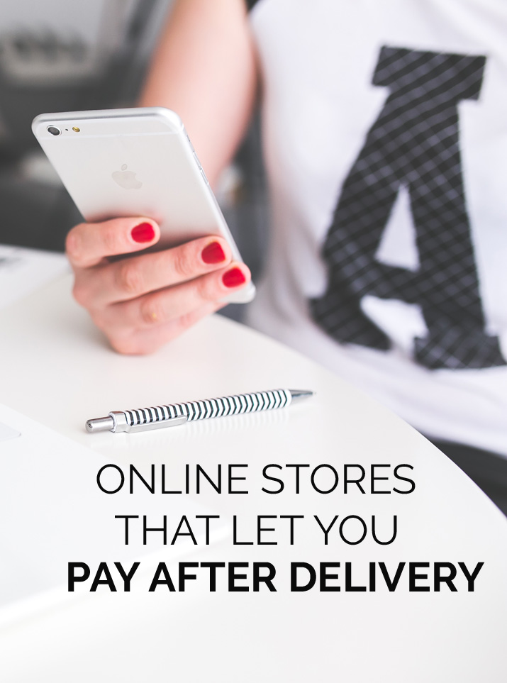online stores that let you use Paypal's Pay Ater Delivery service
